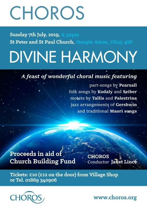 Poster - Choros - Divine Harmony