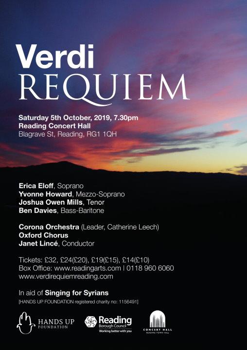 Verdi Requiem Poster